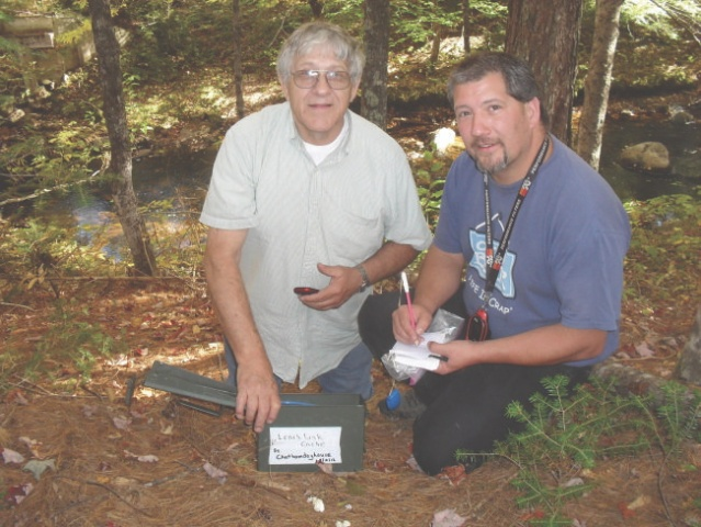 SDC11176 My Dads first Find while caching with us!! From Fryeburg to Gilead RT113.jpg